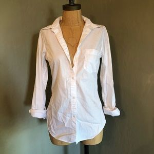 Gap White Button Up - XS